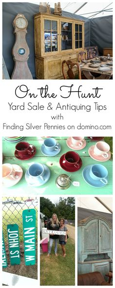 Yard Sale and Antiquing Tips
