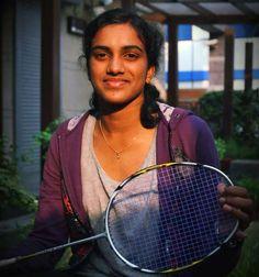 Rio Olympics 2016. Final in Women Singles Badminton. Indian player P V Sindhu won Silver and Spanish player Marin won Gold. A proud moment... P V Sindhu, Rio Olympics 2016, Olympic Champion, Sports Stars, Badminton, Beautiful Indian Actress, Tennis Racket, Priyanka Chopra, Desi