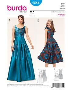 Schnittmuster Kleid H/W 2016 #6584