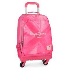 Pepe Jeans Clea Mochila escolar, 30.24 litros, 45 cm, Rosa: Amazon.es: Equipaje Mochila Trolley, Suitcase, Gifts, School Backpacks, Baggage, School, Viajes, Presents, Favors