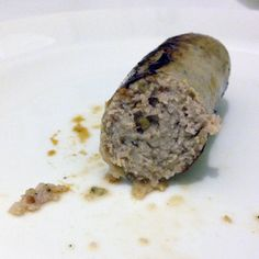 Selfmade Olma-Saussage - original recipe of St. Gallen