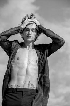 Sergei Polunin by Todd Cole - Dior Homme
