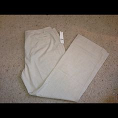 NWT, Coldwater Creek, Beautiful Beige Pants NWT Coldwater Creek natural fit light beige  pants. Sits at the waist, slightly shaped through the hips and thighs with a bootcut leg. Great pair of dress pants, size 16, and they are machine washable :) great for the spring or summer... Light weight material that is super soft! Made of 62% polyester, 33% viscose, 5% spandex. Coldwater Creek Pants Trousers