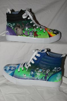 Check out my Facebook page: h_painting for more info on how to order soon!! #h_painting   #corpsebride #anightmarebeforechristmas #customshoes #jackandsally #jackskellington #corpsebridepainting