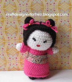 Amigurumi Japanese Girl - FREE Crochet Pattern / Tutorial