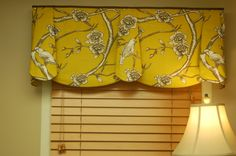 "unique+window+valances | Custom Window Treatment PEYTON Hidden Rod Pocket Valance fits 33""- 46 ..."