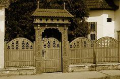 Tulipános kerítés