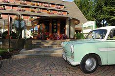 Hotel Forsthaus Langenberg in Bansin auf Usedom an der Ostsee. Tuning Trabant und Wartburg