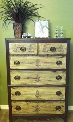Shabby chic dresser by Clairedeloom on Etsy