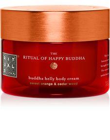 The Ritual of Happy Buddha Body Cream - body cream Cosmetic Design, Seed Oil, Ayurveda, Buddha, Alcohol, Fragrance, Jar, Cream, Happy