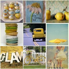 Mostly Yellow Collage