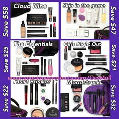 LOOK at our new collections! Eek and you save money when you bundle! It's like a win win! #septembercollections #younique #savemoney #feelbeautiful #getitall #newproducts #makeup #divaliciouslashesbydes