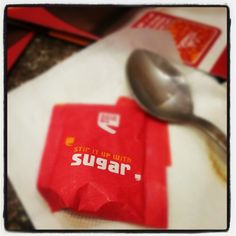 Take it with a pinch of SUGAR