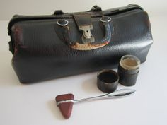 Vintage Doctor's Bag by 20thCenturyGoods on Etsy, $68.00