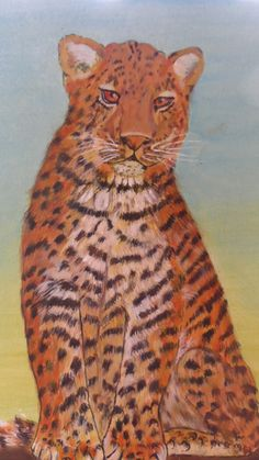 Cub painted by Bea 2015
