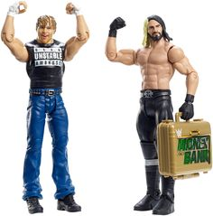 WWE The Shield Dean Ambrose Unstable Wrestling Action Figure Kid Toys Mattel