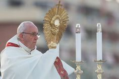 On the feast of Corpus Christi, Pope Francis said that Jesus gave the Church the Eucharist for the salvation of the world. Feast Of Corpus Christi, Corpus Christi Texas, Feast Of The Annunciation, Texas Swimming Holes, Disney Vacations, Family Vacations, Family Travel, Catholic News, Eucharist