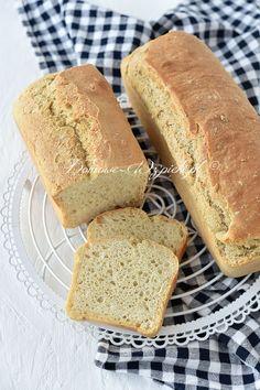 Najprostszy chleb pszenny na drożdżach Vegan Recipes, Cooking Recipes, Vegan Food, Food And Drink, Baking, Bar Designs, Croissants, Baguette, Breads