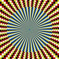 movement illusion in op art Cool Optical Illusions, Art Optical, Illusion Kunst, Illusion Art, Victor Vasarely, Magic Eyes, Visionary Art, Psychedelic Art, Abstract Styles
