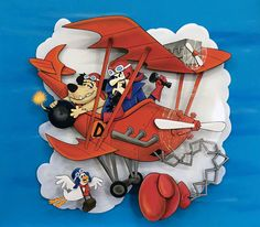 Dastardly and Muttley and Their Flying Machines - Paper Sculpture by Vlady and Helena Keiko - Exposição Cartoon Journey in Paper