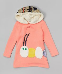 Love this Pink Caterpillar Hoodie - Infant, Toddler & Girls on #zulily! #zulilyfinds