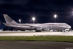 https://flic.kr/p/zFoPzc | LFPG 6 octobre 2015 Boeing 747-8 Qatar - Amiri Flight A7-HBJ