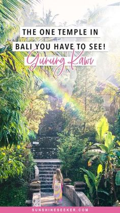 Gunung Kawi, Bali's most magical temple. It's the one attraction you have to experience while on the island! The one Bali temple you have to see! Bali Travel Guide, Asia Travel, Travel Guides, Travel Tips, Travel Books, Places To Travel, Travel Destinations, Places To Go, Wedding Destinations