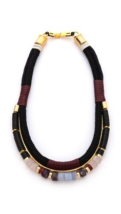 want this so bad #LizzieFortunato The Working Uniform Necklace
