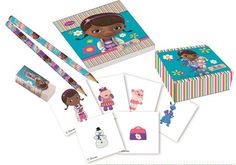 Disney Doc McStuffin, Stationery Pack