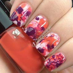 awesome nail polish idea