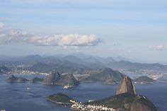 Vista de Rio desde el Corcovado.