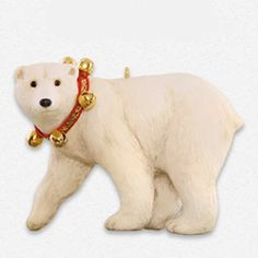 Father Christmass Polar Bear Ornament 2015 Hallmark -- Check out the image by visiting the link.