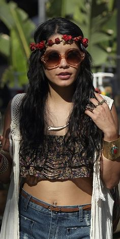 Vanessa Hudgens #festival #fashion