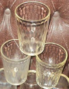 Snuff jar drinking glasses like grandma used to have.  #grandma