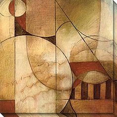 DeRosier 'Transformation II' Oversized Canvas Art