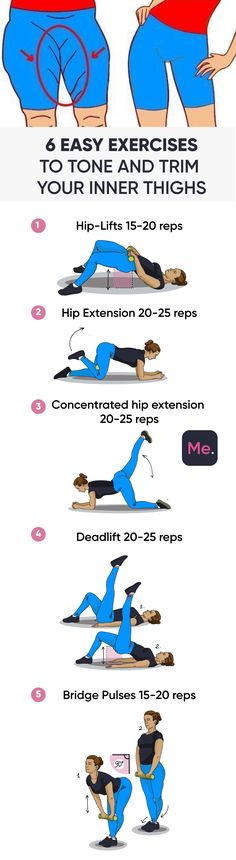 Easy Exercises To Tone And Trim Your Inner Thighs, Easy Exercises To Tone And Trim Your Un. Thighs The best decision for you to have a perfect body is the workout below! Make your body perfect just. Fitness Workouts, Yoga Fitness, Fitness Motivation, Sport Fitness, Easy Workouts, Fitness Diet, At Home Workouts, Health Fitness, Workout Bodyweight