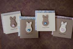 Items similar to Set de cartes Mini lapin de Pâques on Etsy