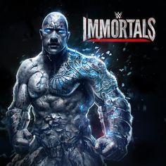 WWE Immortals , Daniel Cortés on ArtStation at https://www.artstation.com/artwork/2Ly5A
