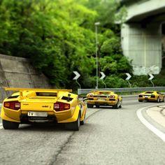Lamborghini Countach & Diablo & Murcielago