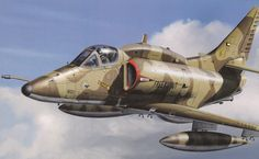 McDonnell Douglas A-4KU Skyhawk 'Free Kuwait' (T. Hoshino, Hasegawa box art)