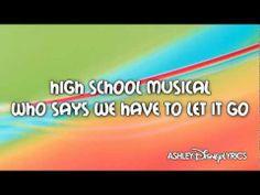 High School Musical - High School Musical (Lyrics Video) HD - YouTube