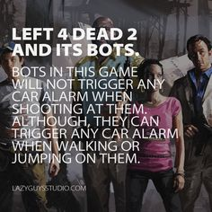 Left 4 Dead 2: Interesting bots logic.