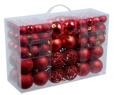 Weihnachtskugeln Christbaumkugel Weihnachten 100 Stück oder 28 Stück bis 6 cm | eBay