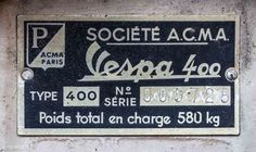 Vespa 400, Paint, Model, Cars, Picture Wall, Scale Model, Paintings, Models