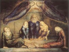 William Blake - Count Ugolino and his sons in prision.