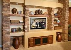 Most up-to-date Pictures Fireplace Remodel high ceiling Tips If your room has a fireplace, it's typically the focal point of the room. Update the fireplace wit unit design With Home Theatre Fireplace Remodel, Fireplace Wall, Linear Fireplace, Tv Cabinet Design, Entertainment Wall, Home Theater Rooms, Home Upgrades, Living Room Tv, Design Case