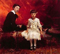 John Singer Sargent , Edouard and Marie Pailleron