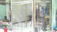 Putting in some temporary displays until we move in fully next week.