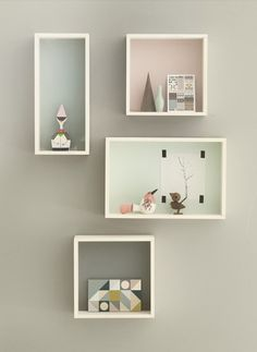 Objects Display boxes ferm living