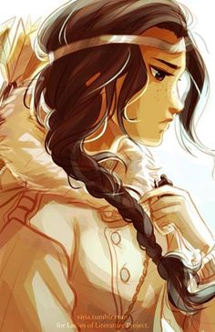 "Percy Jackson fan art Bianca diAngelo. I honestly loved Bianca, and when she died I was like ""WHY RICK?! WHYYYYY?!""<<<same"